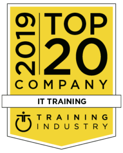 Top 20 IT Training Company Badge
