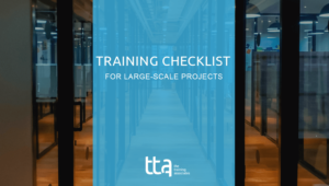 training checklist cover