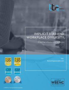 implicit bias and workplace diversity course outline