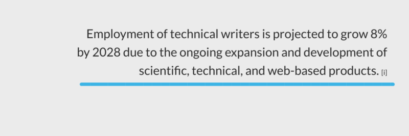 demand for technical writers