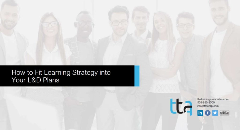 Learning Strategy webinar cover