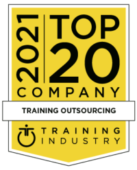training outsourcing company award